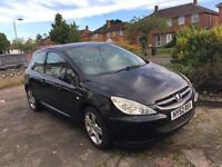 PEUGEOT 307 2003/03 HDI DIESEL FULLY LOADED it's not 206 207 or ford vw Vauxhall