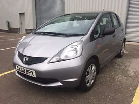 2010 Honda Jazz 1.2, 62000 miles ,one former keeper,3 months warranty