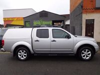 NO VAT! Nissan Navara 2.5dCi Aventura with a massive specification sat nav air con (51)