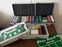 Three poker sets