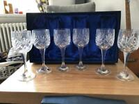 6 Sherry/Wine Glasses in box