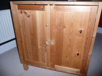 IKEA PINE KIDS CUPBOARD / CABINET STORAGE BEDROOM
