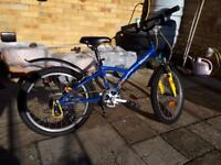 Childs Bicycle in immaculate condition - hardly used - like new with some extras