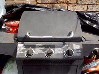 Tesco 3 burner barbeque .
