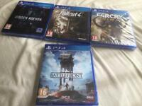 LOOK BRAND NEW SEALED PS4 GAMES £10 EACH