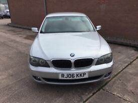 Bmw 7 series 3.0 730ld. 5 door. 2006. Silver. auto