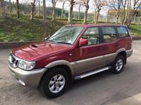 Nissan Terrano 4x4 Diesel 7 Seater