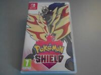 Pokemon Shield video game for Nintendo Switch