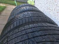4 x 235/50/18 Nokian WR A3 Winter tyres