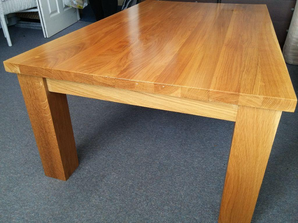 Hand Made Solid Oak Coffee Table In Brighton East Sussex Gumtree