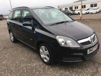 2007 Vauxhall ZAFIRA 1.6 , mot - January 2019 , only 49,000 miles , 3 owners,galaxy,scenic,sharan,c4