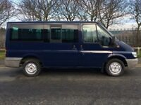 2005 FORD TRANSIT TORNEO 2.0 9 SEAT SWB BUS 95,000 GENUINE MILES FROM NEW NO VAT