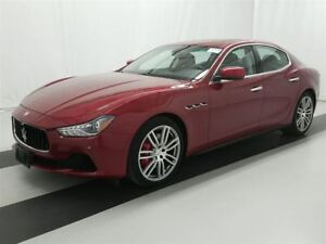 2016 Maserati Ghibli ONLY 16000 KMS! SQ 4 AWD! FULL LOAD!