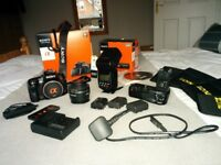 Sony Alpha a580 16Mb DSLR Digital Camera outfit - perfect for keen photographer or videographer