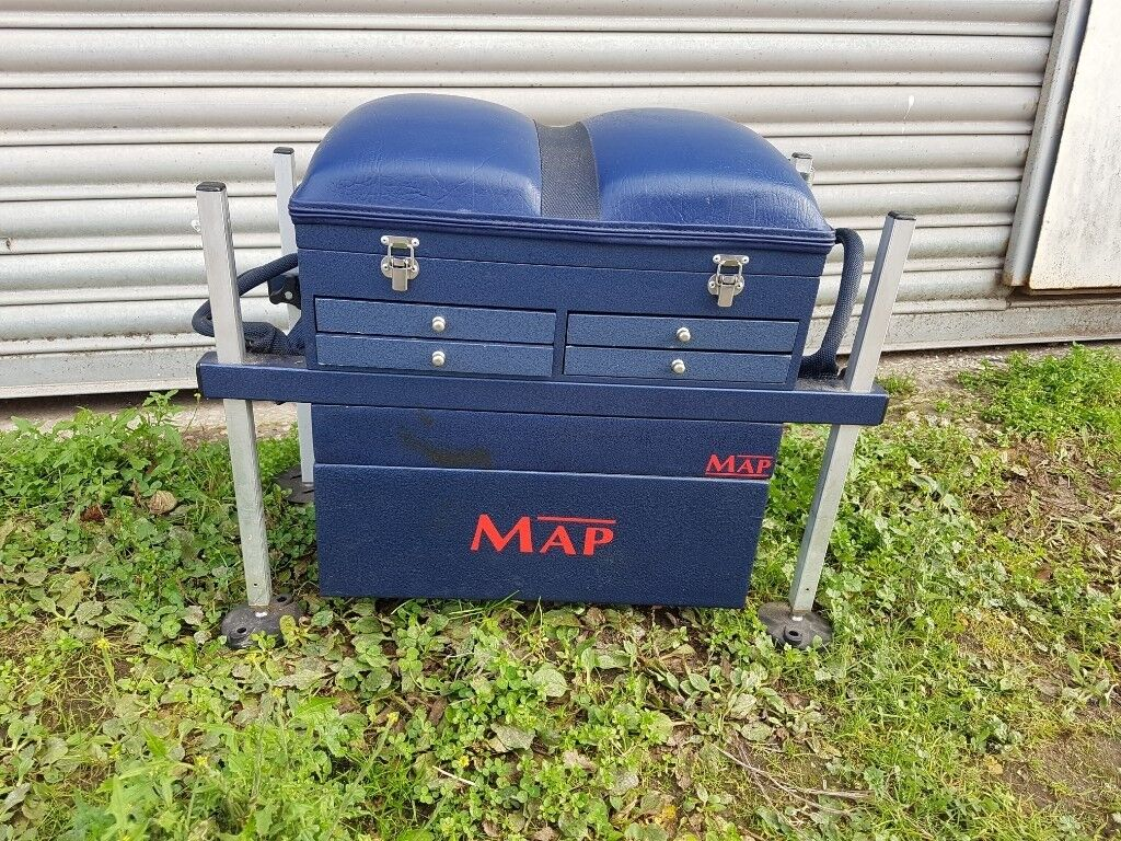 Fishing Tackle Seat Boxes Sale - Swiss Paralympic