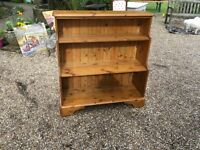 Solid pine bookcase ...made by DUCAL ......