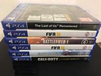 PS4 plus 6 games