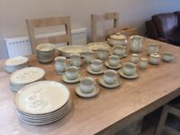 Dendy 51 piece set inc dinner dishes, tea and oven dishes
