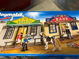 Playmobil take along western city set 4398