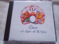 QUEEN: A NIGHT AT THE OPERA HOLLYWOOD RECORDS 1991 USA IMPORT EXTRA TRACKS VGC