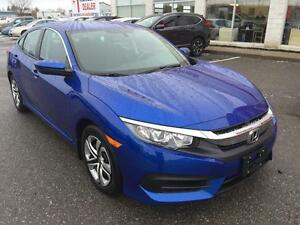 2016 Honda Civic LX Sedan CVT/PREVIOUS COURTESEY CAR