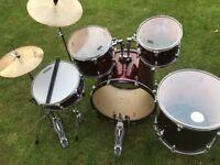 Evans drum set