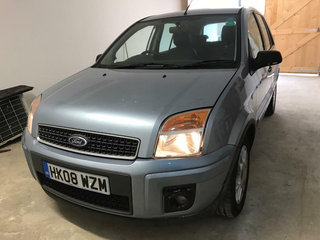 2008 Ford Fusion 1 4 Zetec Climate 5dr Petrol Manual One