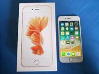 Apple iPhone 6S 16GB Rose Gold EE