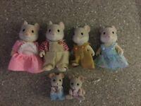 Sylvanian Mouse Family