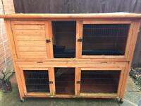 2 teir rabbit hutch cage forsale