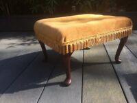 Vintage style retro Foot stool Pouffe