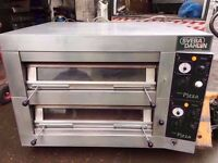 "PIZZA OVEN CATERING RESTAURANT KITCHEN COMMERCIAL TAKEAWAY BAKERY 12 X 13"" FASTFOOD CAFE CANTEEN"