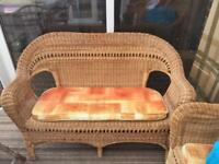 Wicker conservatory furniture