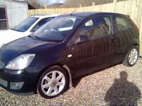 Ford Fiesta Blue, LONG MOT, (credit, debit cards accepted)