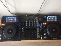 ***Mint Condition*** Pioneer XDJ 1000 & 750k Mixer