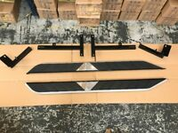 For Range Rover Evoque Dynamic High Flyer Side Steps Bars Running Boards Boxed Accessory Part