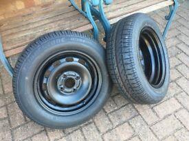 Brand New Bridgestone B391 X2 Tyres 175/65R14