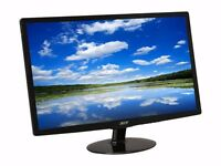"""Acer 24"""" Widescreen LED, Full HD, Gaming Computer Monitor Screen <CHEAP FOR QUICK SALE"""