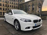 2013 (63) BMW 525D 2.0 M-Sport Auto / Over 7k of spec / 77k / FBMWSH