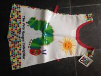 Brand new with tags - the very hungry caterpillar apron 100% cotton coated with pvc