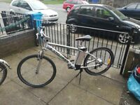 Electric mountain bike 24v 250w pedal assist and twist and go