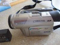 Panasonic camcorder NV-GS120 with all accessories (was £700 new)