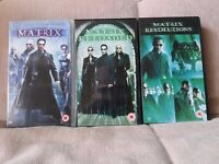 Matrix Trilogy vhs video tapes