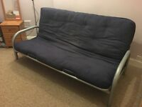 Double futon sofabed, free to a loving home