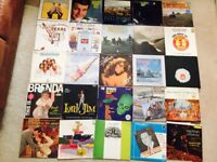 Large collection vinyl records for sale