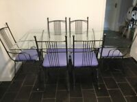 DIN8NG TABLE AND CHAIRS