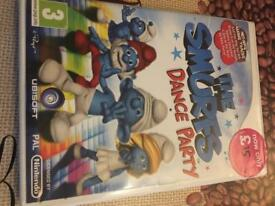 Wii game - Smurfs Dance Party