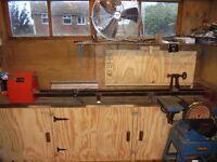 wood turning lathe for sale