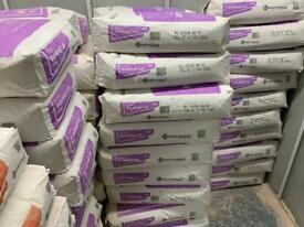 BONDING PLASTER THISTLE Free delivery / collection 25kg x 100