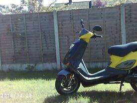 100cc 2-stroke scooter adly
